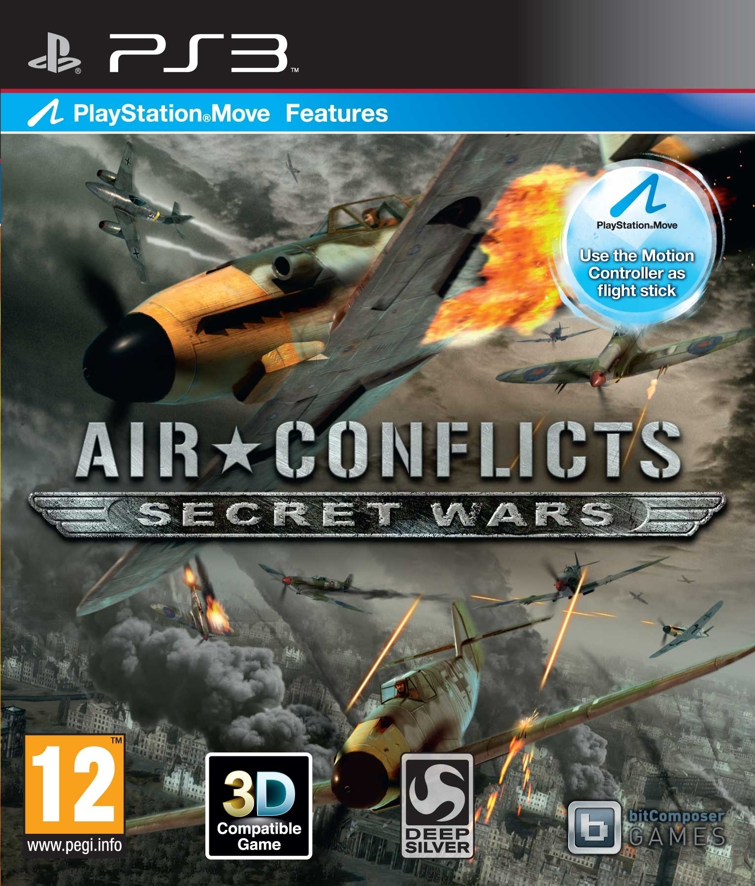 Air Conflicts: Secret Wars Move (PS3)